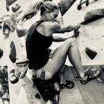 Corinna Frey bouldern